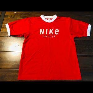 Vintage Nike mesh soccer jersey
